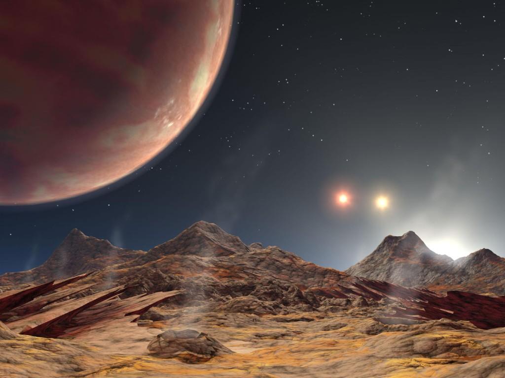 Land of Three Suns (Artist's Concept Animation) (Image Credit: NASA/JPL-Caltech)