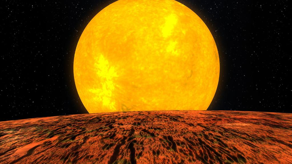 NASA's Kepler Mission Discovers Its First Rocky Planet (Artist Concept) (Image Credit: NASA)