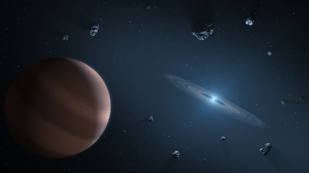 Polluted White Dwarf (Artist's Concept) (Image Credit: NASA/JPL-Caltech)
