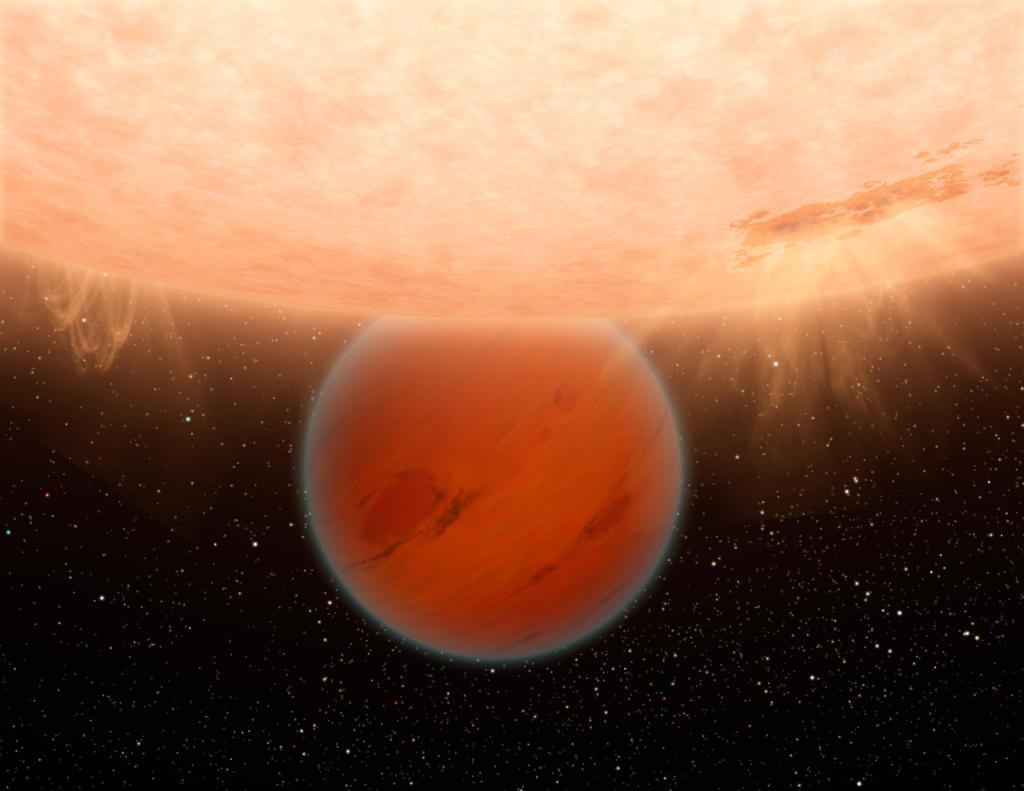 Exotic Exoplanet (Artist's Concept) (Image Credit: NASA/JPL-Caltech