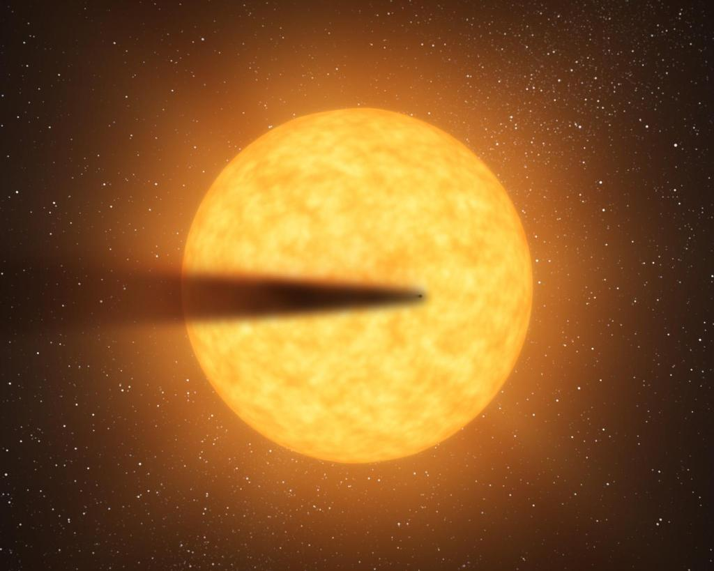 Possible Disintegrating Planet (Artist's Concept) (Image Credit: NASA/JPL-Caltech)