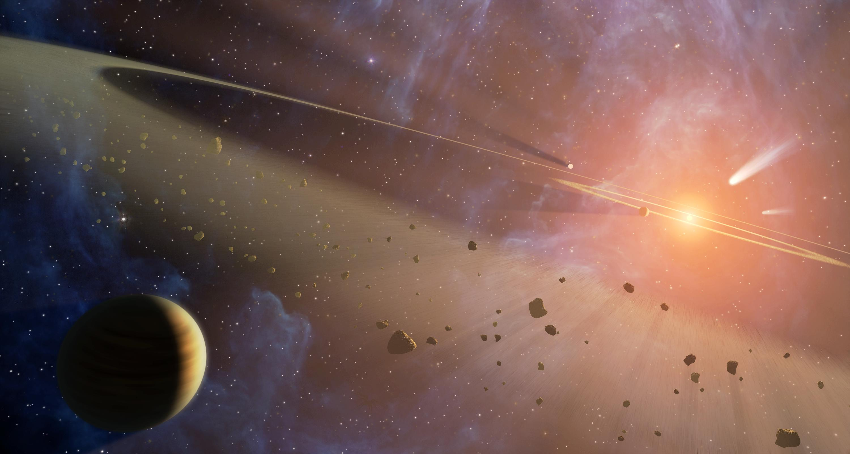 Double the Rubble (Artist Concept (Image Credit: NASA/JPL-Caltech)