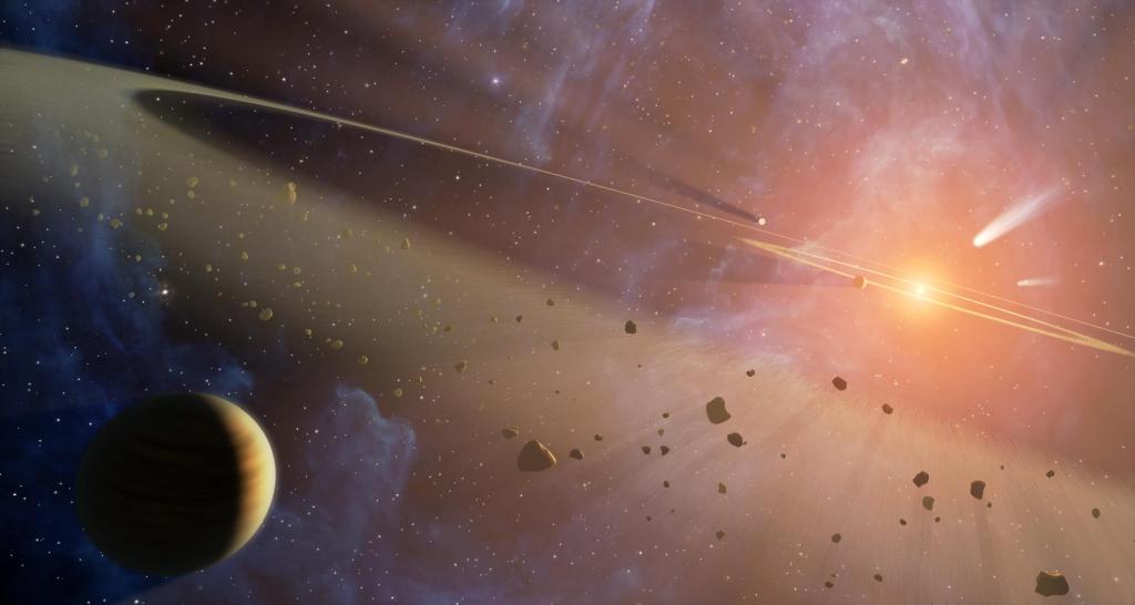 Double the Rubble (Artist Concept) (Image Credit:  NASA/JPL-Caltech)