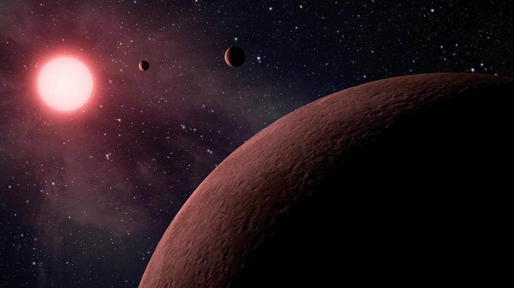 Mini Planetary System (Artist Concept) (Image Credit: NASA/JPL-Caltech)
