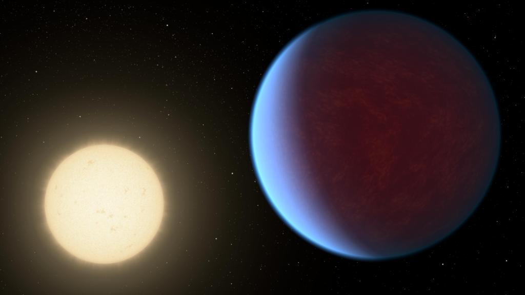 55 Cancri e with Atmosphere (Artist's Concept) (Image Credit: NASA/JPL-Caltech)
