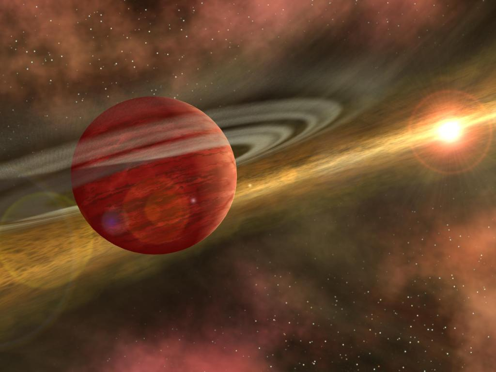 Out of the Dust, A Planet is Born (Artist Concept) (Image Credit: NASA/JPL-Caltech)