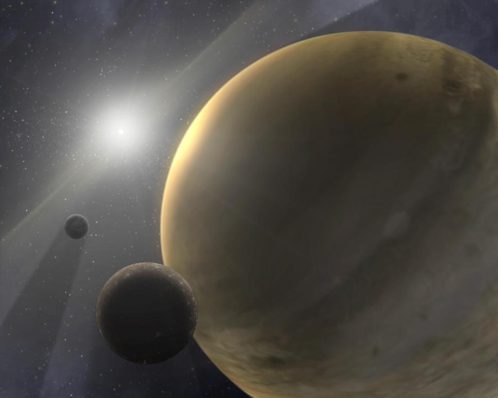 Gas Giants Form Quickly (Artist Concept) (Image Credit: NASA/JPL-Caltech)