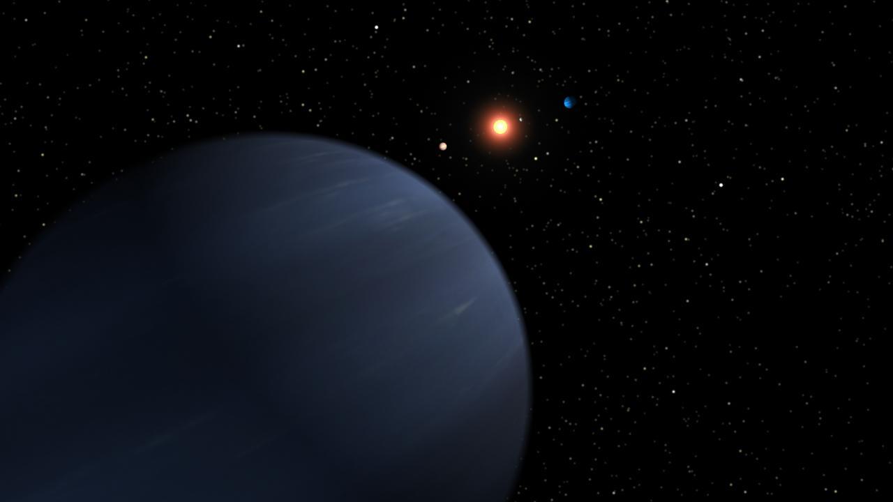 Plentiful Planetary System (Artist Concept) (Image Credit: NASA/JPL-Caltech(