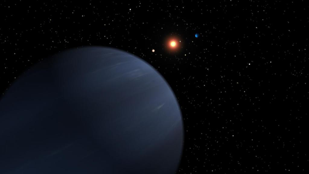 Plentiful Planetary System (Artist Concept) (Image Credit: NASA/JPL-Caltech)
