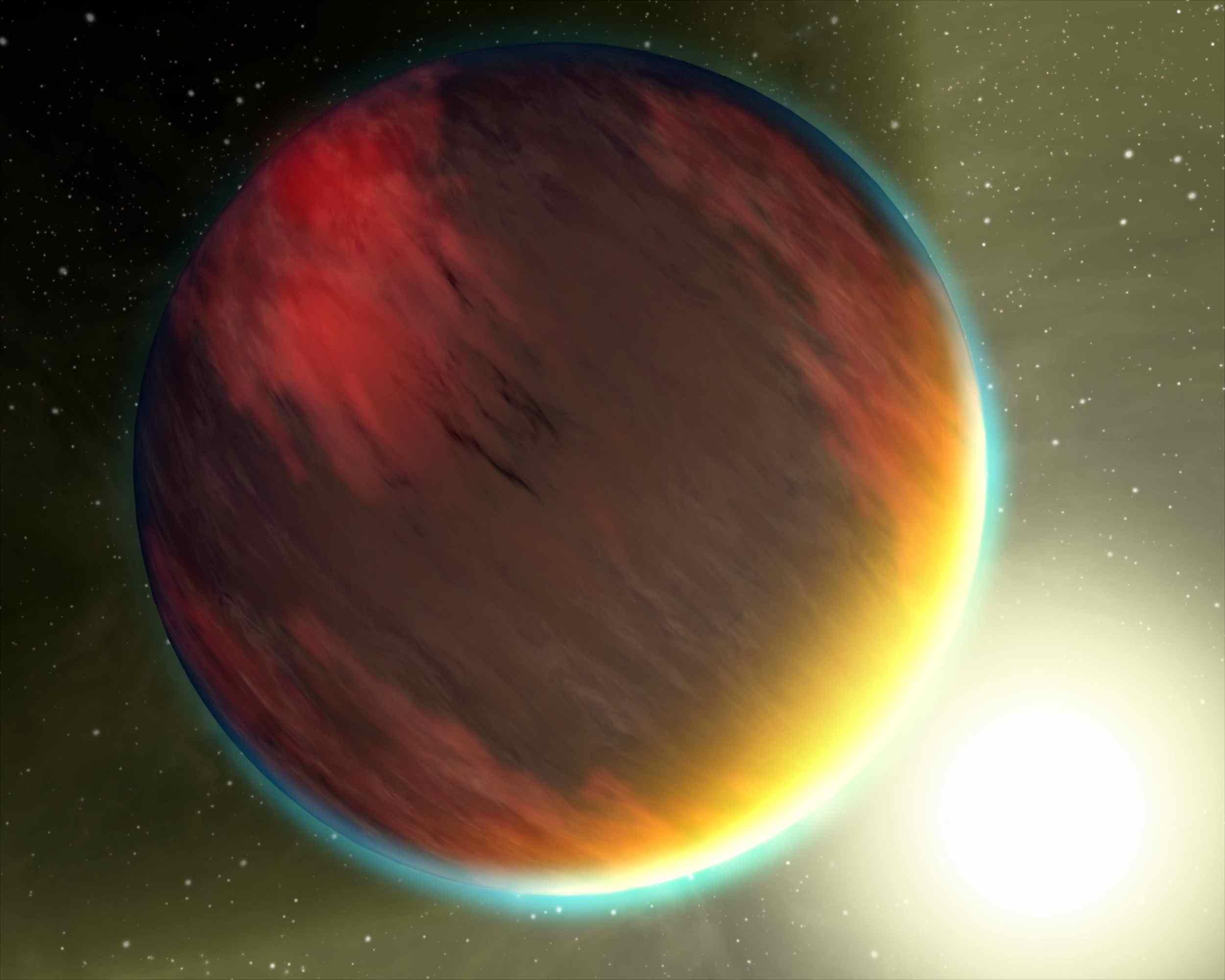 Exotic Atmospheres (Artist Concept) (Image Credit: NASA/JPL-Caltech)