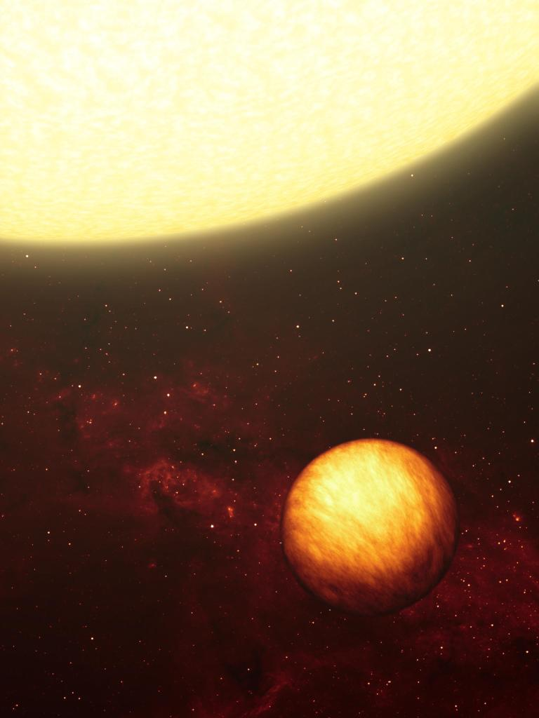 Exotic World Blisters Under the Sun (Artist Concept) (Image Credit: NASA/JPL-Caltech)