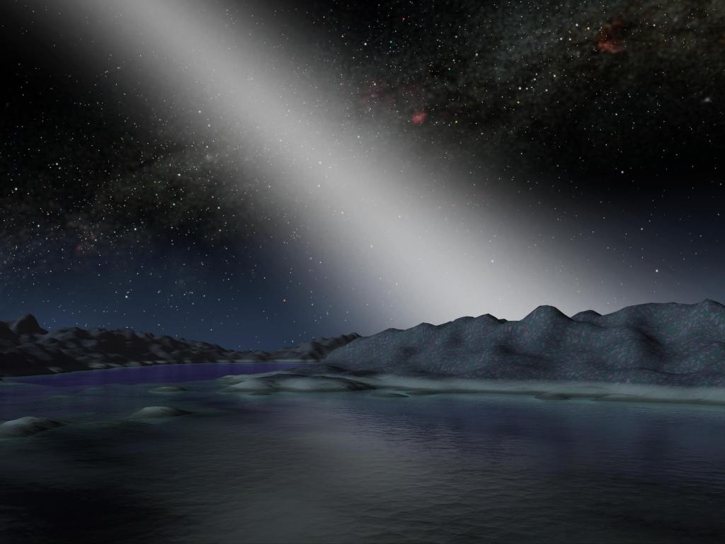 Alien Asteroid Belt Compared to our Own (Artist Concept) (Image Credit: NASA/JPL-Caltech)