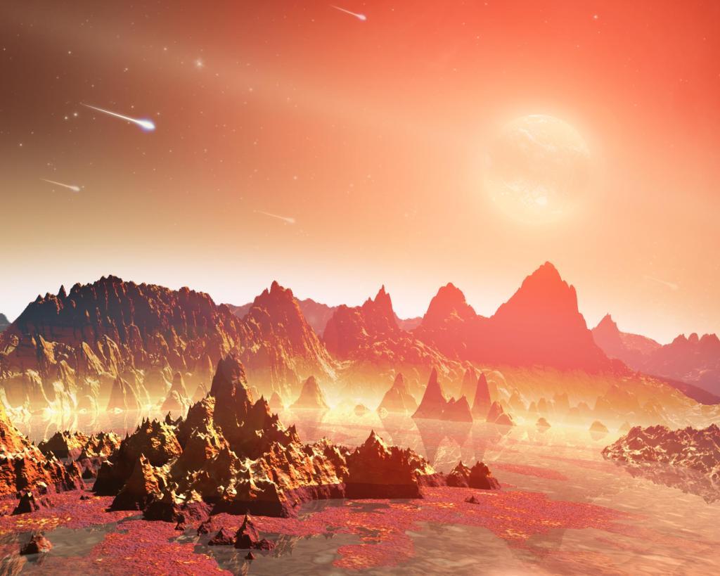 Chemical Soups Around Cool Stars (Artist Concept) (Image Credit: NASA/JPL-Caltech)