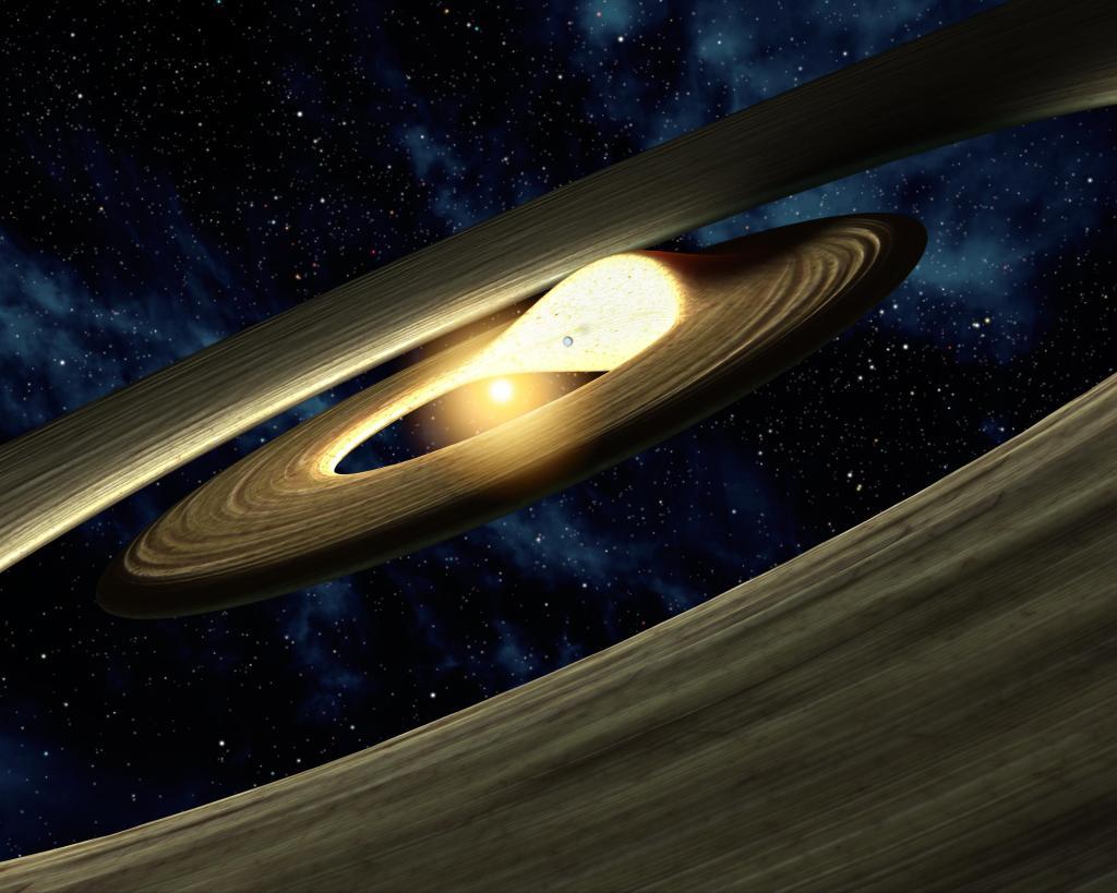 Lump of Planetary Stuff (Artist Concept)(Image Credit: NASA/JPL-Caltech)