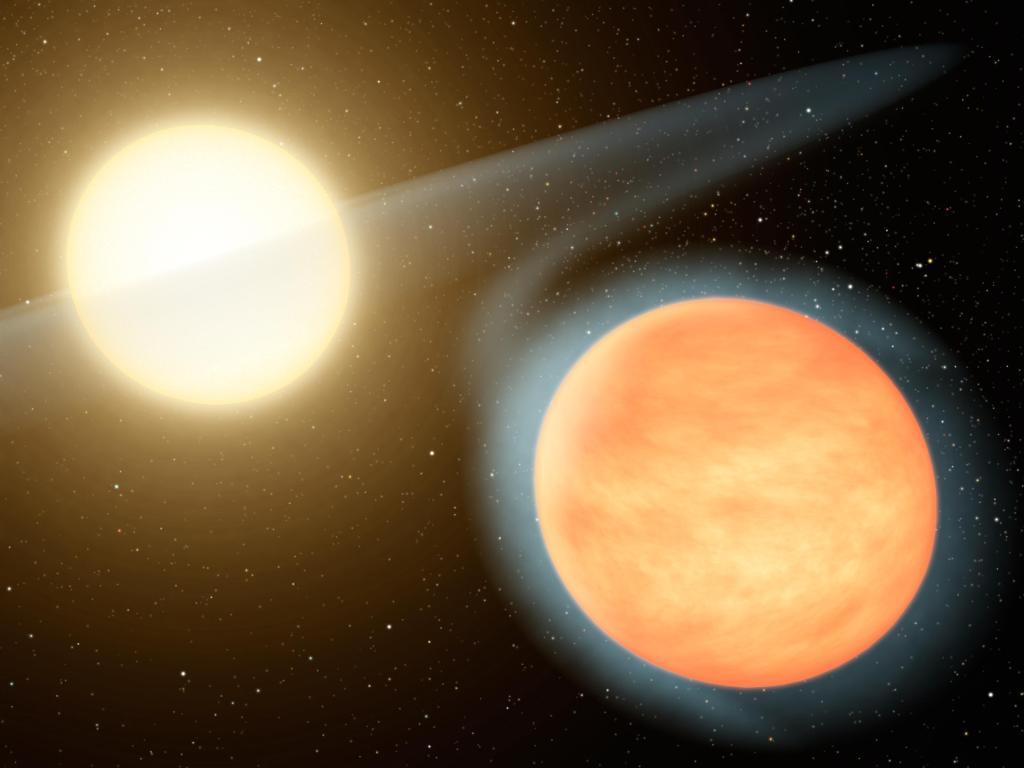 Hot, Carbon-Rich Planet (Artist Concept) (Image Credit: NASA/JPL-Caltech)