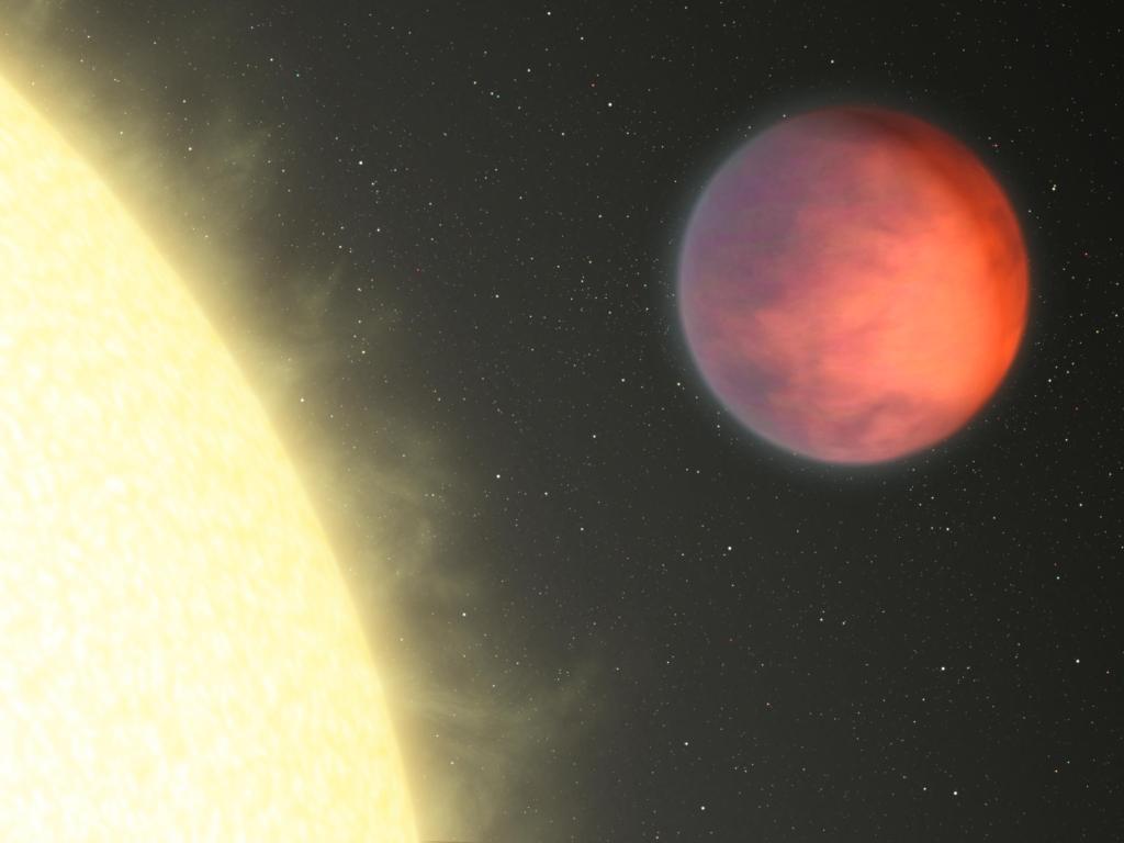 Planetary Hot Spot Not Under the Glare of Star (Artist Concept) (Image Credit: NASA/JPL-Caltech)