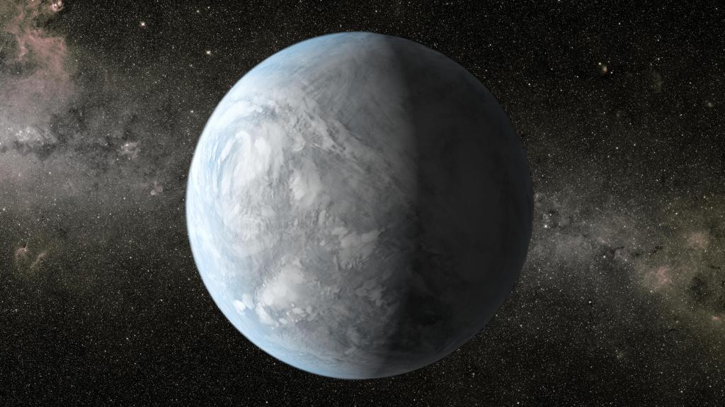 Kepler-62e (Artist Concept) (Image Credit: NASA/Ames/JPL-Caltech)