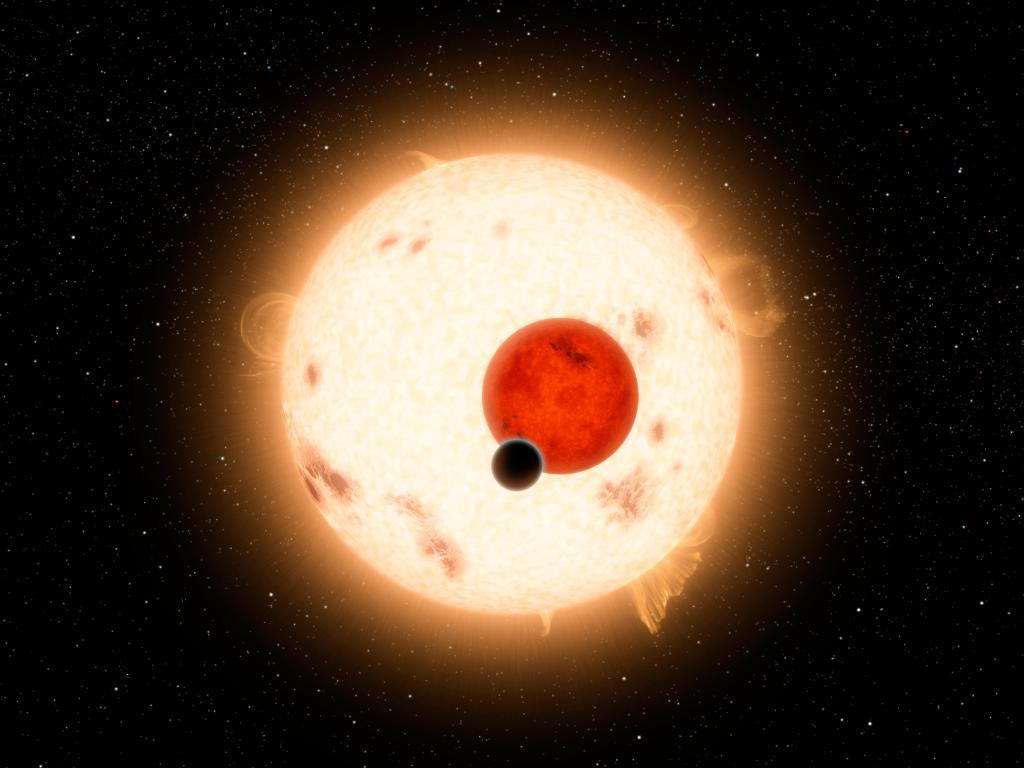 Where the Sun Sets Twice (Artist Concept) (Image Credit: NASA/JPL-Caltech)